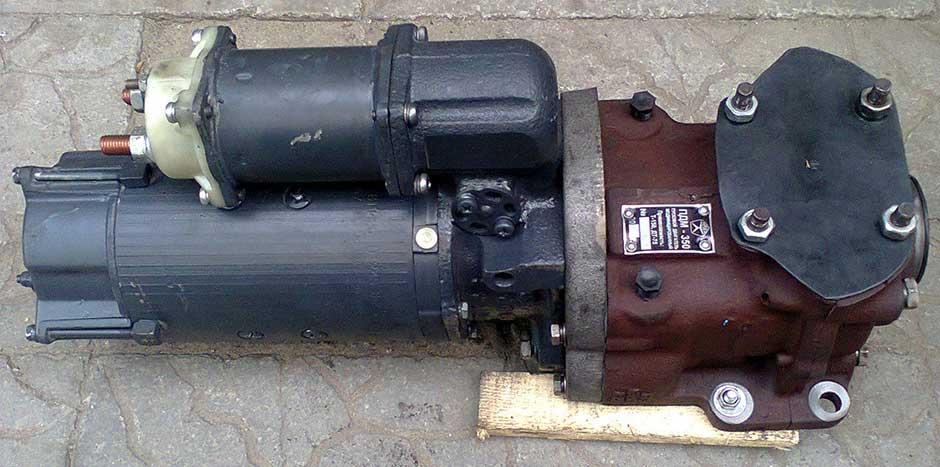 переоборудование под стартер т-150 пдм 350